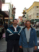 SF Downtown 2001 - Ed Burroughs and Jody Fugate